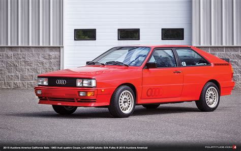 Audi Quattro by 56k Mile Audi Ur Quattro And Dkw Coupe To