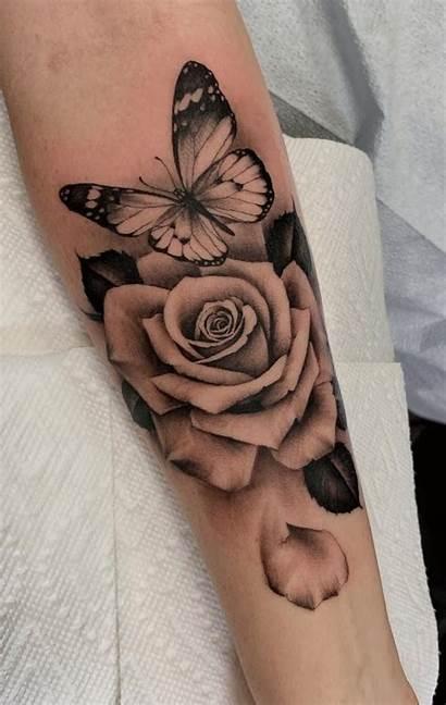 Butterfly Tattoos Tattoo Rose Wrist Sleeve Tatuagens