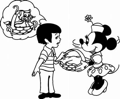 Minnie Mouse Coloring Pages Disney Colorear Para