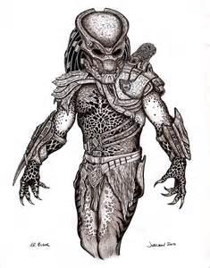 Predator Drawings