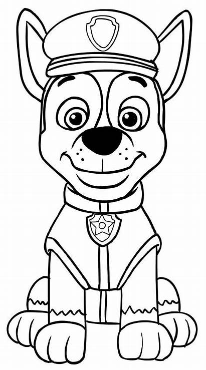 Patrol Paw Chase Coloring Pages