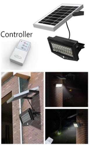 1000 lumen solar security light 1000 lumens remote control solar pir security light
