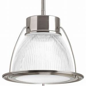 Progress lighting light brushed nickel integrated led