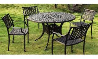 metal patio furniture sets patio design ideas