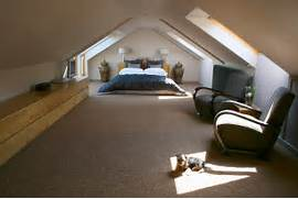 Medium Attic Living Room Design Attic Bedroom Ideas21