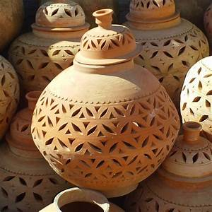 Lampe De Jardin : lampe de jardin poterie artisanale marocaine de marrakech ~ Teatrodelosmanantiales.com Idées de Décoration