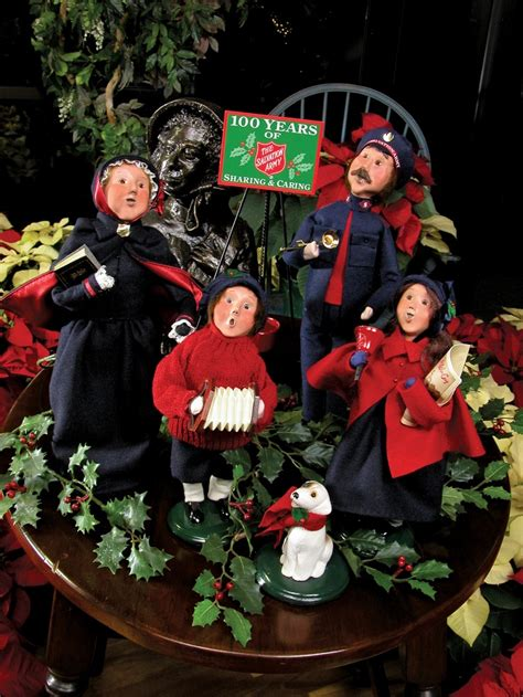 salvation army carolers  byers choice carolers