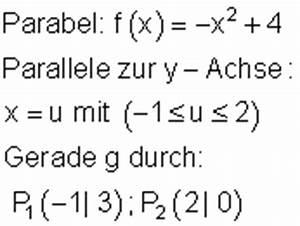Ausbringungsmenge Berechnen : text und anwendungsaufgaben zu quadratischen funktionen iii ~ Themetempest.com Abrechnung