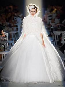 chanel fall winter 2012 2013 couture wedding inspirasi With chanel wedding dress