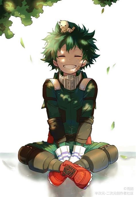midoriya izuku  hero academiaso cute art