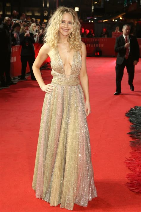 Jennifer Lawrence Dior Dress At Red Sparrow London
