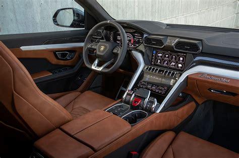 2019 Lamborghini Urus Grigio Lynx Interior 5  Motor Trend