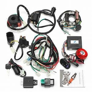 Alarm System Cdi Wiring Harness Remote Start Switch High