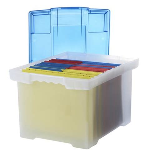 classeur bureau walmart boîte de classeur storex en plastique avec couverture en