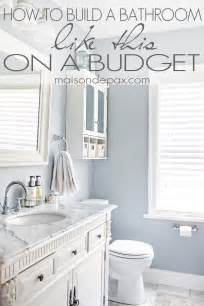budget bathroom ideas bathroom renovations budget tips