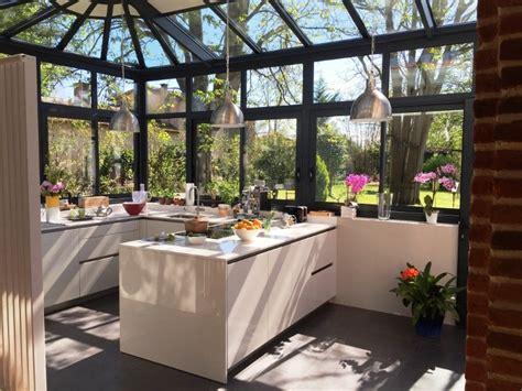 cuisine dans veranda photo comment créer une cuisine dans une véranda habitatpresto