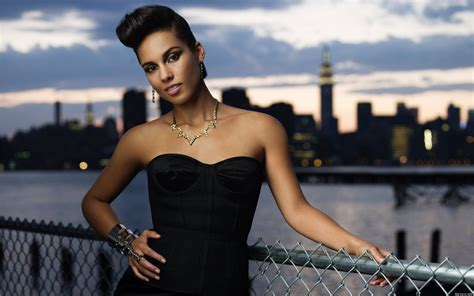 Alicia Keys Full Hd Wallpaper And Background Image