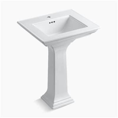 kohler 2344 memoirs pedestal lavatory sink with stately
