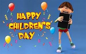 Happy Childrens Day Hd Art Kids Wallpaper
