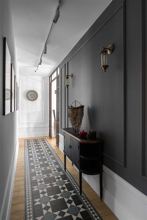 epingle par farley miranda sur decoracao couloir gris