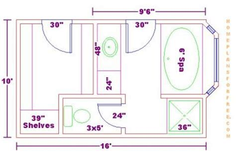 bathroom floor plans free master bath floor plans with dimensions bathroom design 10x16 size free 10x16 master