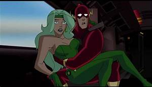 Fire and Flash Justice League Unlimited | Fire Beatriz ...