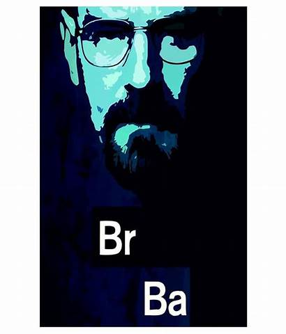 Breaking Bad Print4me Walter Without Frame Poster