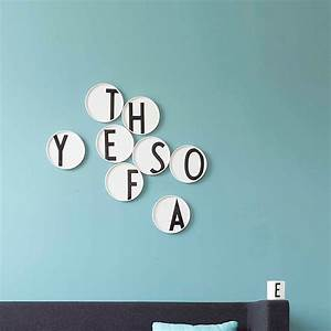 top3 by design design letters aj porcelain plate a With porcelain wall letters