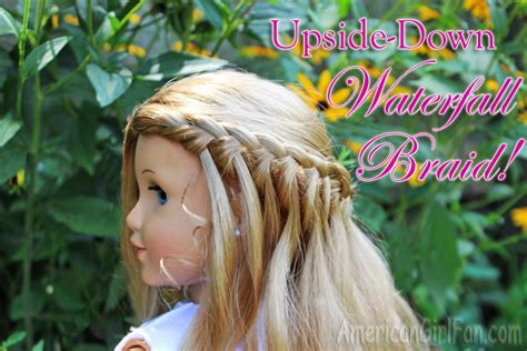 Upside Down (easy) Waterfall Braid! (americangirlfan Images Of Hairstyles For Black Women Male Comb Over You Tube Natural Hair Styles Medium Short 2013 Straight Men Wavy How Do Style