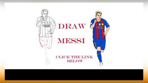 How To Draw Lionel Messi Full Body
