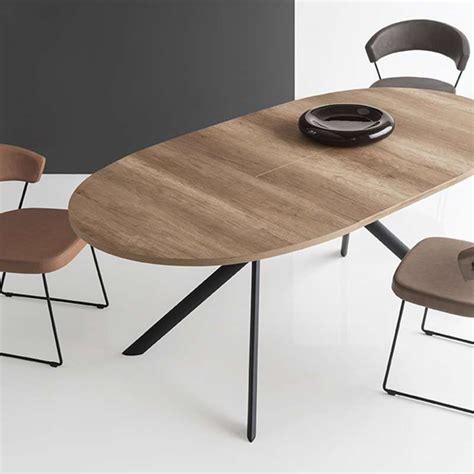 Table Ovale Extensible Table Ovale Extensible En M 233 Lamin 233 Giove Connubia 174 4 Pieds