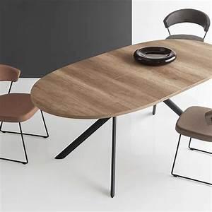 Table Ovale Design : table ovale extensible en m lamin giove connubia 4 ~ Teatrodelosmanantiales.com Idées de Décoration