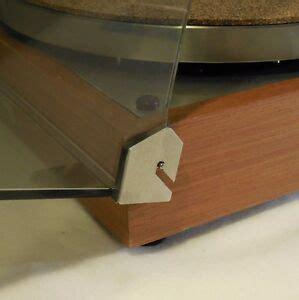 thorens td 160 145 165 dust cover hinge repair kit reinforcers for turntable ebay