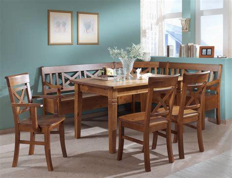 Massivholz Eckbank Fjord Für Küche Und Esszimmer 147x147cm
