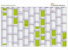 Ferien Hamburg 2015 Ferienkalender zum Ausdrucken
