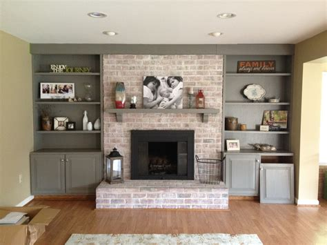 white fireplace paint how to paint a brick fireplace infarrantly creative