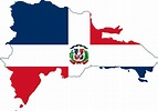 File:Flag map of the Dominican Republic.svg - Wikimedia ...