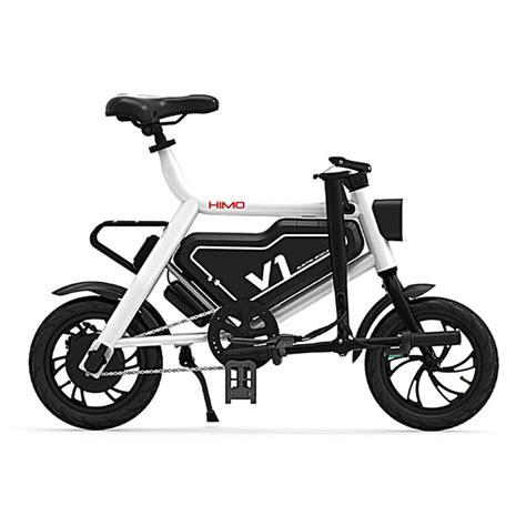 xiaomi e bike xiaomi himo v1 folding electric bicycle geekmaxi