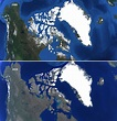 The situation in North America and Greenland according to ...
