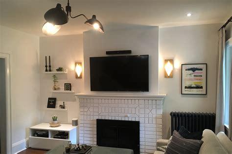 above fireplace tv installation leslievillegeek tv