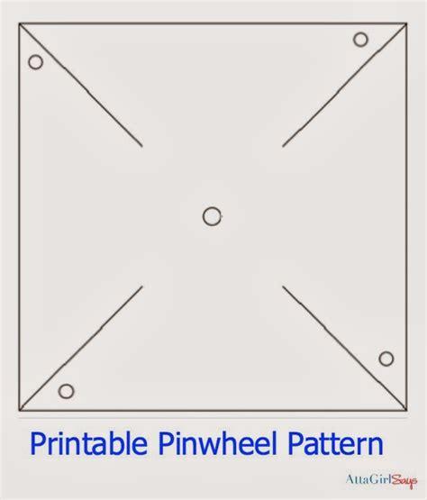 Pinwheel craft template maxwellsz
