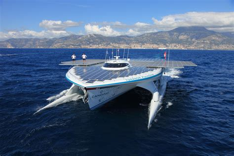 Boats World by World S Largest Solar Powered Boat T 219 Ranor Planetsolar