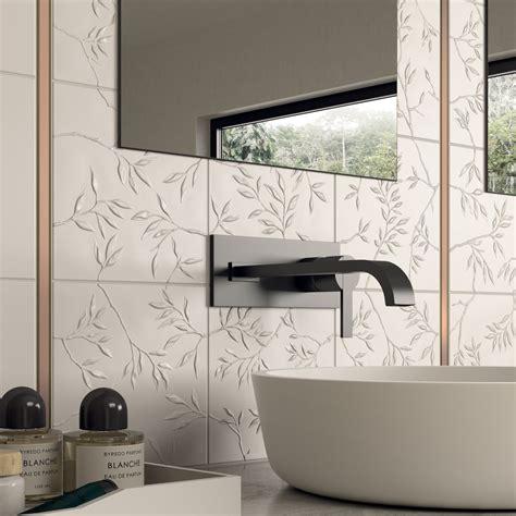 style tiles  stoneware  white body  marca corona