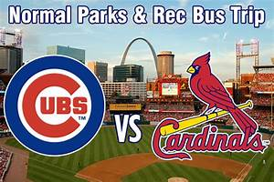 Win 4 Tickets and Transportation to Cubs-Cardinals Game at ...