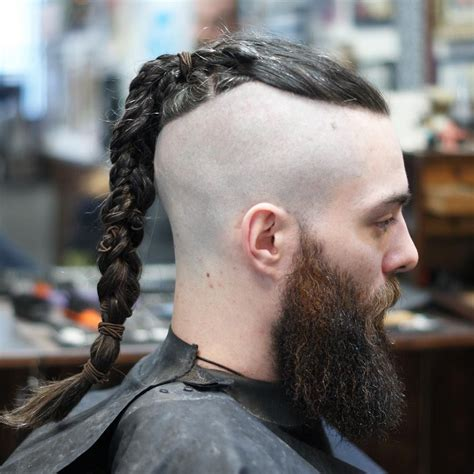 undercuts long braids cool mens hairstyles