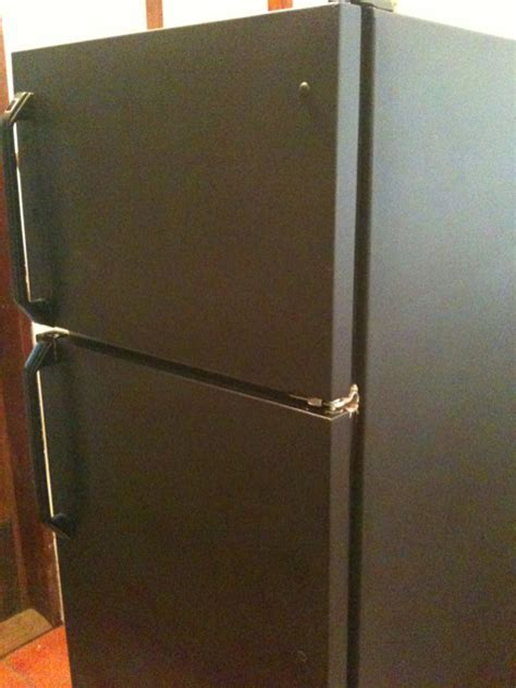 Paint Refrigerator Black
