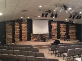 Leaning Tower Pallet Church Stage Design Idea Many Concepts Used In Church Stage Design