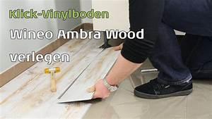 Vinylboden Fliesenoptik Küche : ambra wood wineo klick vinylboden youtube ~ A.2002-acura-tl-radio.info Haus und Dekorationen