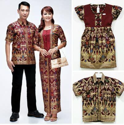 koleksi model baju muslim lebaran kombinasi batik