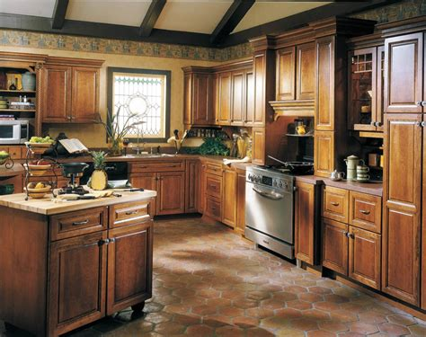 How To Apply The Kraftmaid Kitchen Cabinets  Kitchen